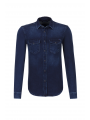 Denimová slim fit košile Pepe Jeans JEPSON