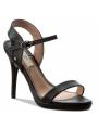 Dámské sandály na podpatku v černé barve Pepe Jeans LAKE BASIC