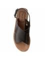 Dámské sandály v černé barvě Pepe Jeans MALIBU CROSSED 4