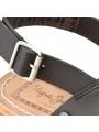 Dámské sandály v černé barvě Pepe Jeans MALIBU CROSSED 2