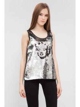 Flitrované tričko Pepe Jeans BLAIRE SHIRT 2