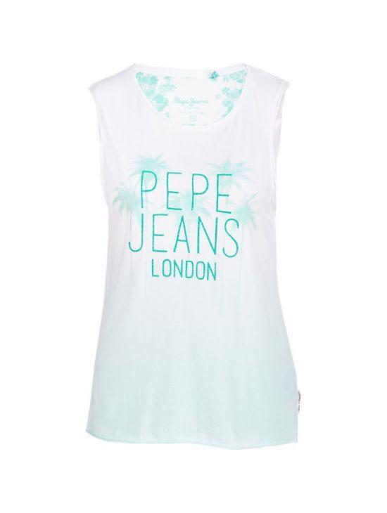 Lehké tílko Pepe Jeans TIKY T-SHIRT zelené