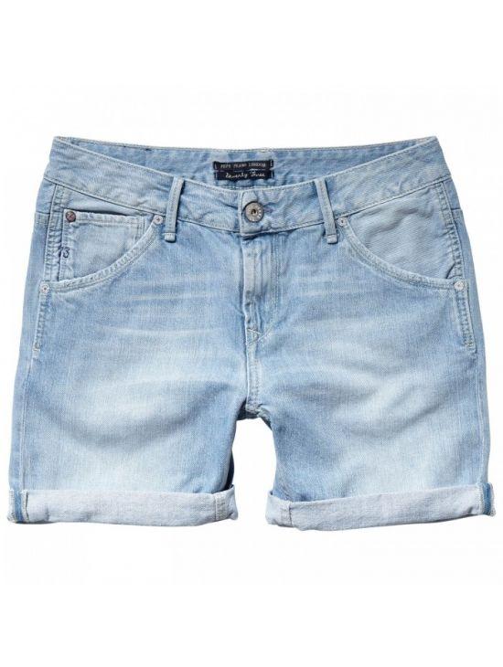 61672840901 Džínové dámské kraťasy Pepe Jeans DODGER - 919 CONCEPT STORE