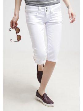 Bílé kraťasy pod kolena Pepe Jeans VENUS CROP