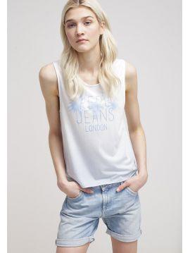 Lehké tílko Pepe Jeans TIKY T-SHIRT modré