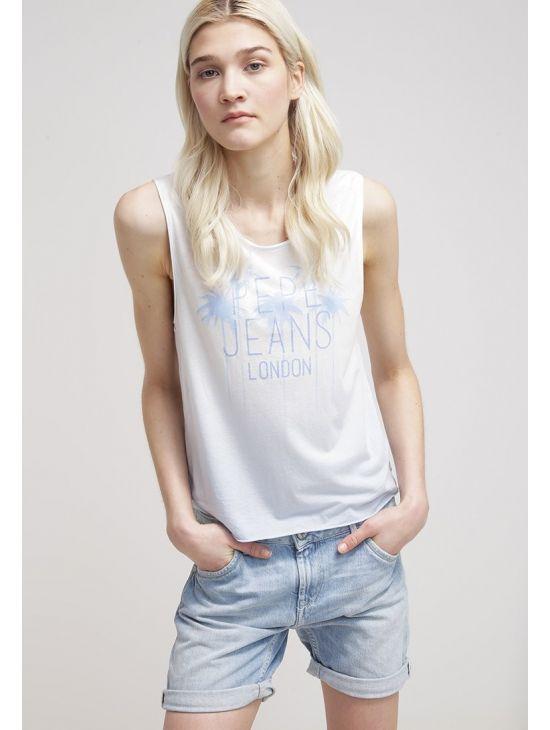 Lehké tílko Pepe Jeans TIKY T-SHIRT modréb