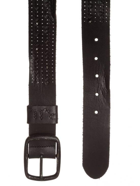 Černý kovaný pásek Pepe Jeans KAY