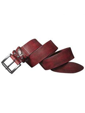 Vínový zdobený pásek Pepe Jeans ARIA