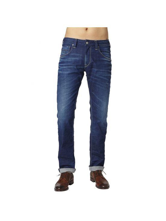 Tmavomodré komfortní džíny Pepe Jeans ZINC