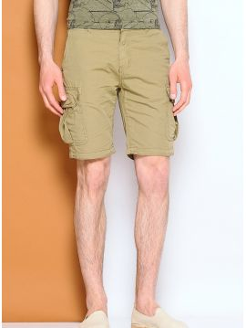 Khaki kraťasy s kapsami Pepe Jeans OLIVIER