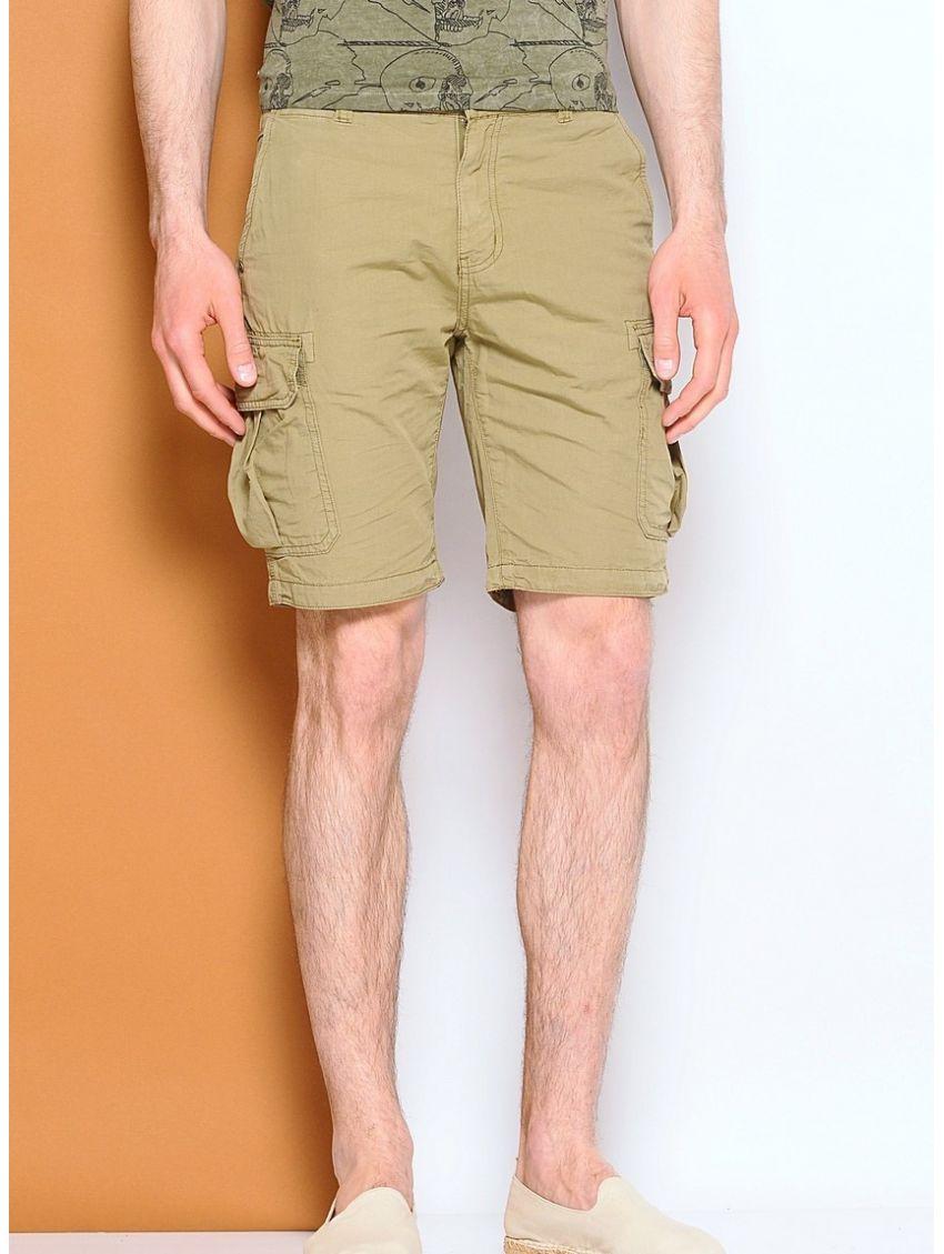 Khaki kraťasy s kapsami Pepe Jeans OLIVIER - 919 CONCEPT STORE 4ac87c8127