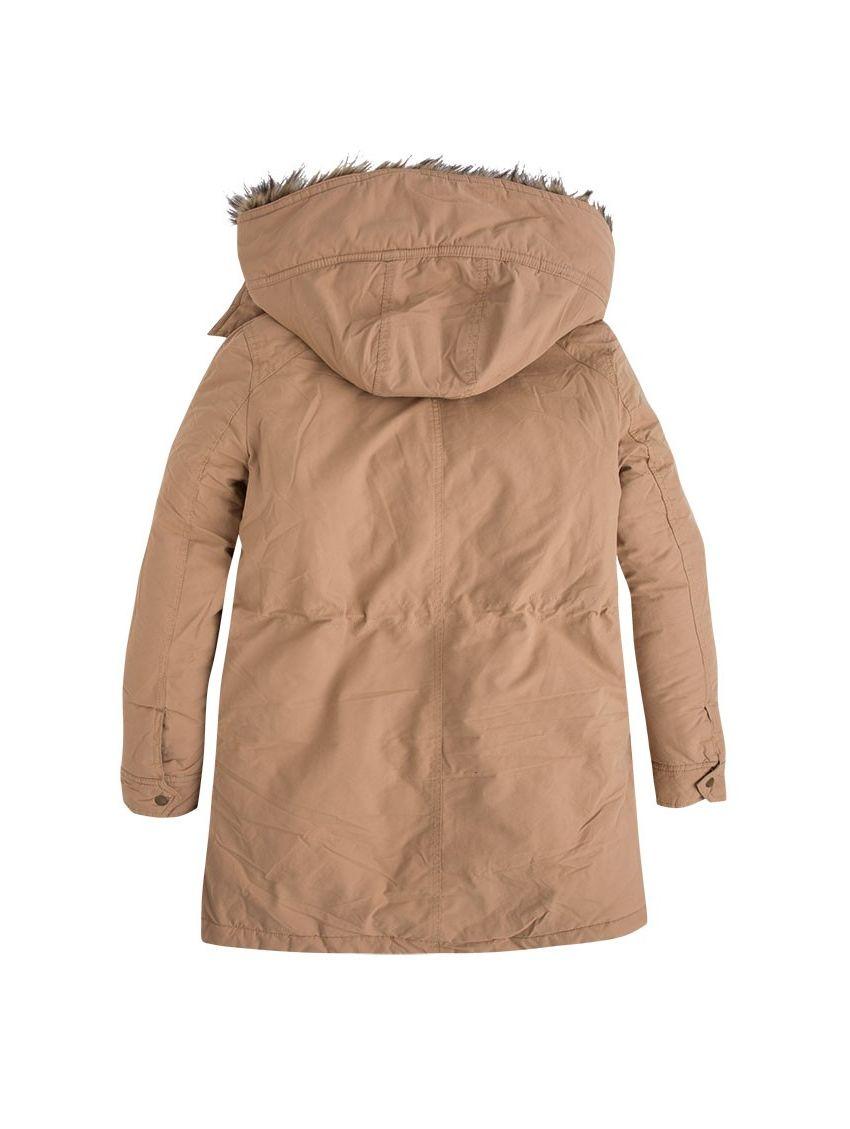 6387afac6c0a Zimní béžová parka bunda Pepe Jeans POLLY - 919 CONCEPT STORE