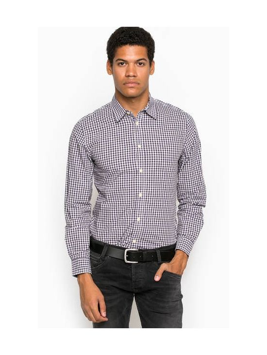 Kostkovaná košile Pepe Jeans MALWIE