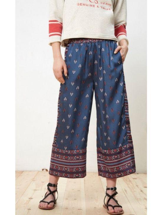 Saténové culottes kalhoty Pepe Jeans ADELE