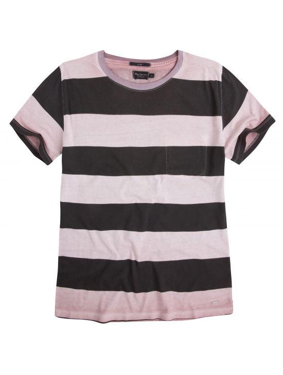Pruhované tričko Pepe Jeans BETULA T-SHIRT. Loading zoom 1f0dca81c2