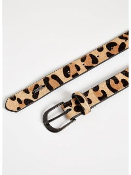 Pásek s leopardím vzorem PepeJeans ADRIENNE