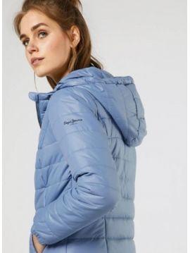 Modrá zimní bunda Pepe Jeans ALANIAc