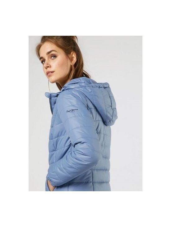 ba9ad58c26fb Modrá prošívaná dámská bunda Pepe Jeans ALANIA - 919 CONCEPT STORE