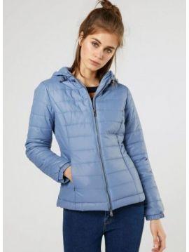 Modrá zimní bunda Pepe Jeans ALANIA