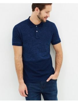 Tmavě modré polo triko Pepe Jeans ADAM