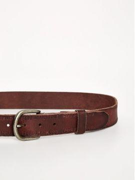 Pánský hnědý pásek Pepe Jeans DELPHI BELT