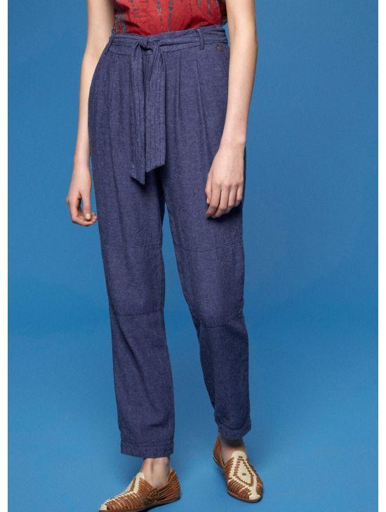 Dámské kalhoty s vysokým pasem Pepe Jeans FEMI