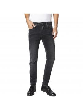 Tmavě šedé skinny džíny Pepe Jeans NICKEL