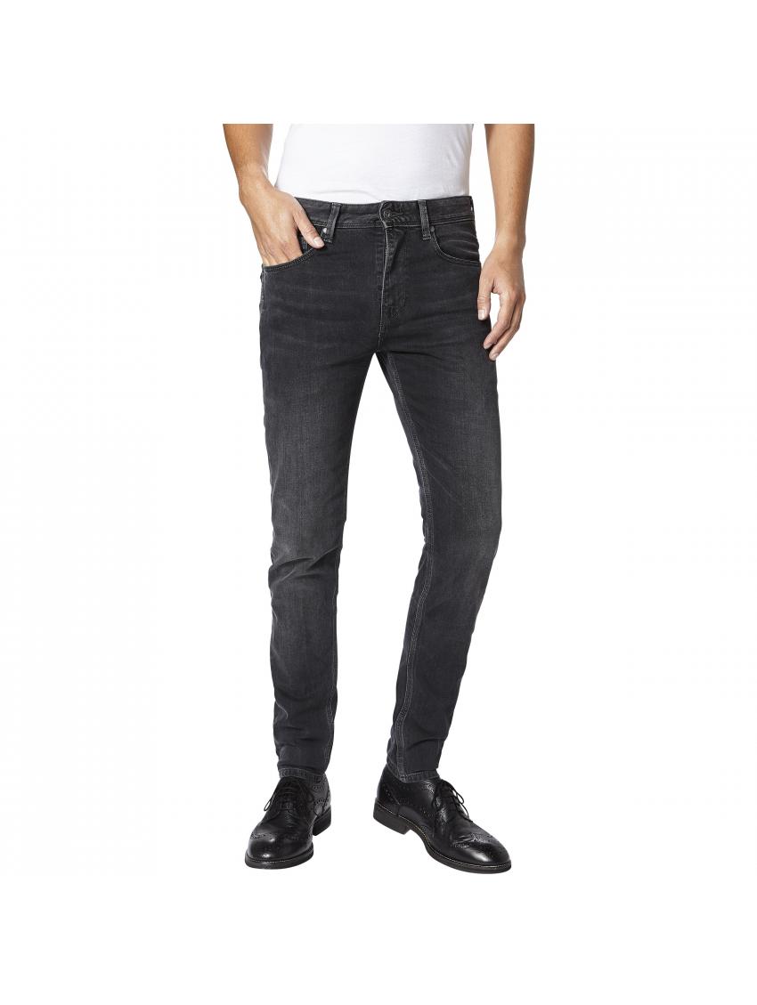 ab7d70f0731a Tmavě šedé skinny džíny Pepe Jeans NICKEL - 919 CONCEPT STORE