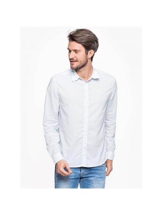 Světle modrá košile Pepe Jeans GAMBOOGE