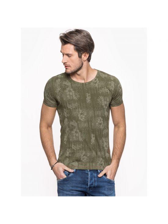 Khaki slim triko Pepe Jeans GIBBON - 919 CONCEPT STORE 8b398218d0