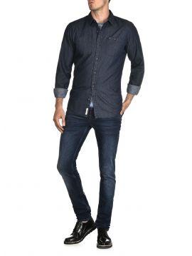Modrá košile Pepe Jeans FORREST