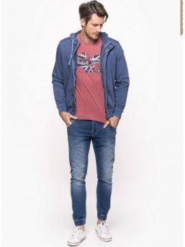 Modré jogger džíny Pepe Jeans JG-GUNNELb
