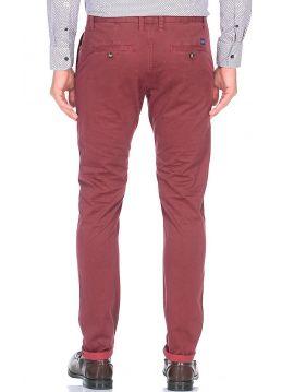 Červené chinos kalhoty Pepe Jeans JAMESa