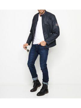 Černá podzimní bunda Pepe Jeans RACER