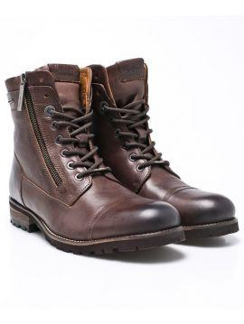 Zimní hnědé boty Pepe Jeans MELTING FLEXd
