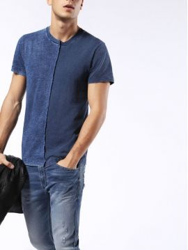 Dvoubarevné tričko Diesel T-DOUBLE-IND