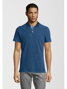 Modré pruhované polo tričko Pepe Jeans DALGARNO POLO