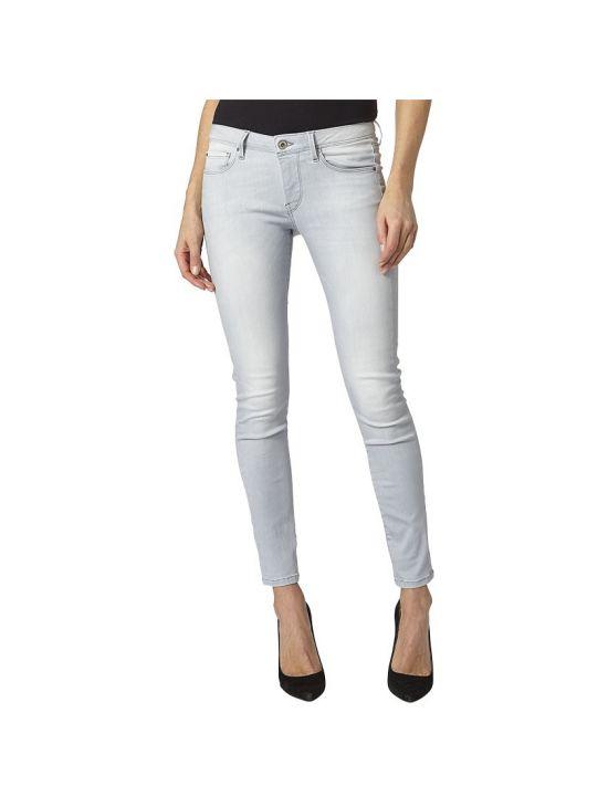 Šedé slim džíny Pepe Jeans LOLA D85