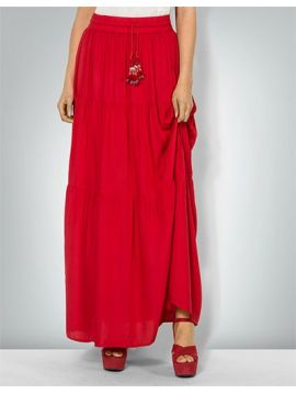 Maxi červená sukně Pepe Jeans MAIA