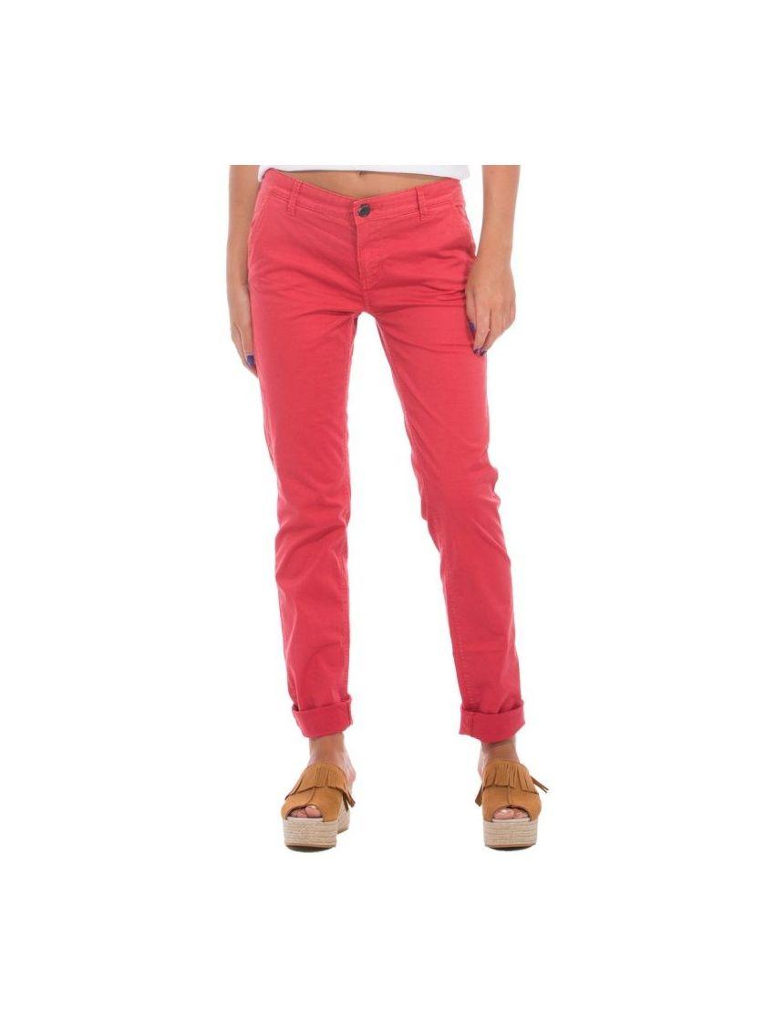8207fc0a1c92 Dámské červené plátěné kalhoty Pepe Jeans MAUREEN - 919 CONCEPT STORE