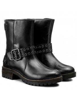 Kožené boty s přezkou Pepe Jeans HELLEN OPENa