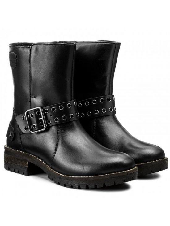 528bf34ebea Kožené boty s přezkou Pepe Jeans HELLEN OPEN - 919 CONCEPT STORE