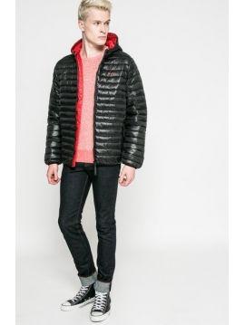 Prošívaná černá zimní bunda Pepe Jeans ONS
