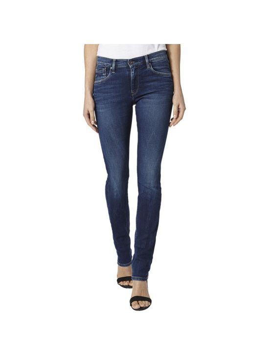 Džíny s vyšším pasem Pepe Jeans VICTORIA