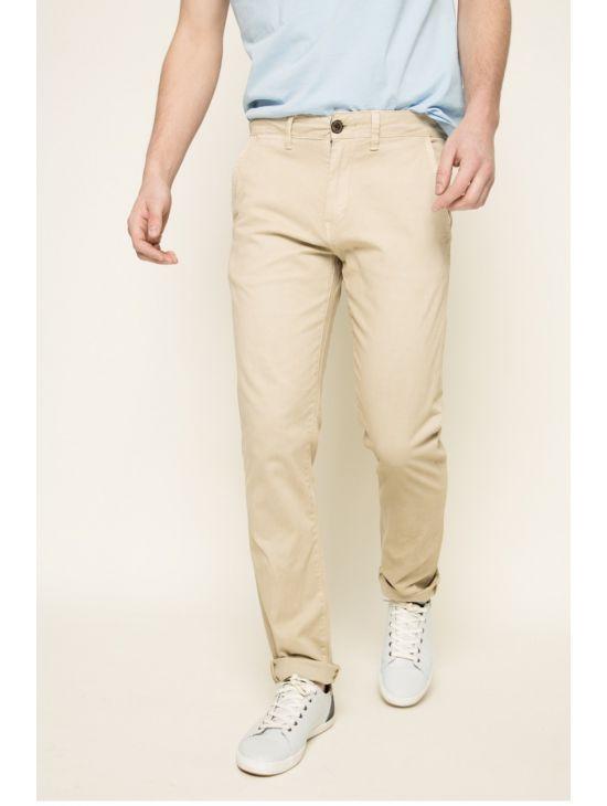 Béžové chinos kalhoty Pepe Jeans SLOANE