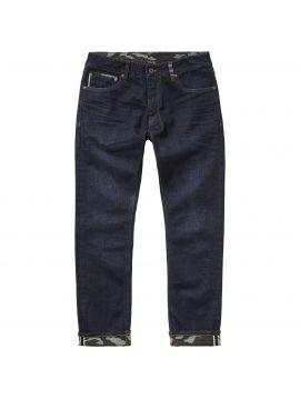 Raw modré džíny selvedge denim Pepe Jeans STANLEY CAMOU