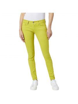 Neonové žluté slim džíny Pepe Jeans SOHO