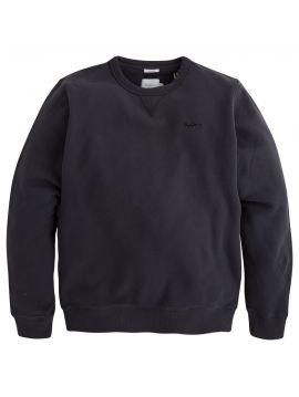 Černá mikina bez kapuce Pepe Jeans CREW NECK