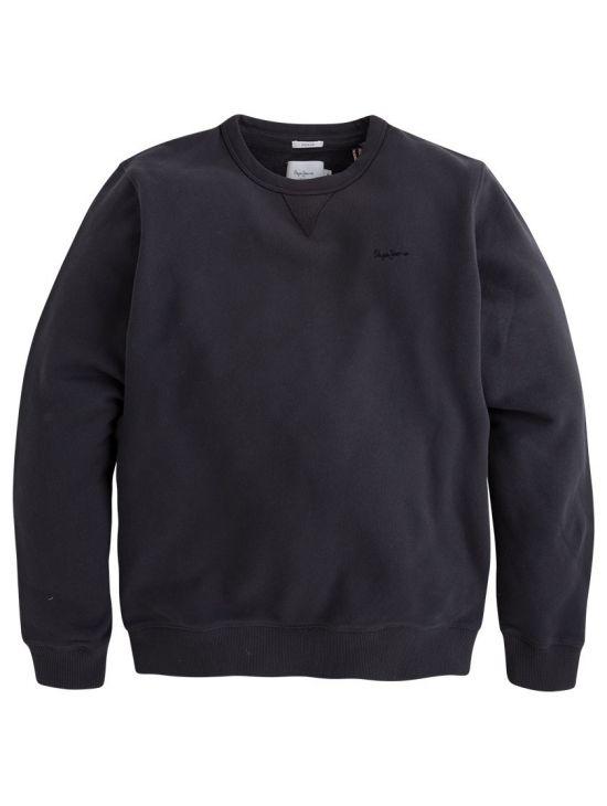 70572e8d56d Černá mikina bez kapuce Pepe Jeans CREW NECK - 919 CONCEPT STORE