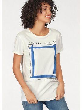 Dámské triko INSPIRE OTHERS Pepe Jeans BRUNA